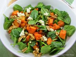 Pumpkin, Fetta & Walnut Salad