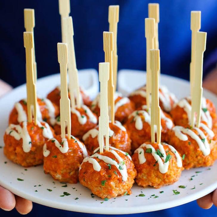 Italian Meatball Skewers