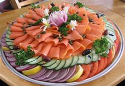 Mixed Seaford, Meat and Vege Platter
