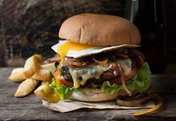 Loaded Beef Burger