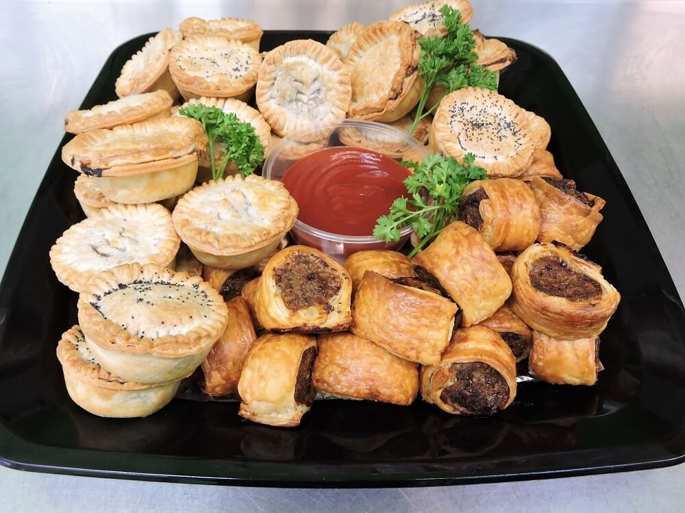 homemade-mini-pies-and-beef-sausage-roll