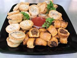 Mini Pies & Sausage Rolls