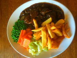 Braised Steak and Vegies