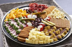 Cheese and Cold Meat Platter
