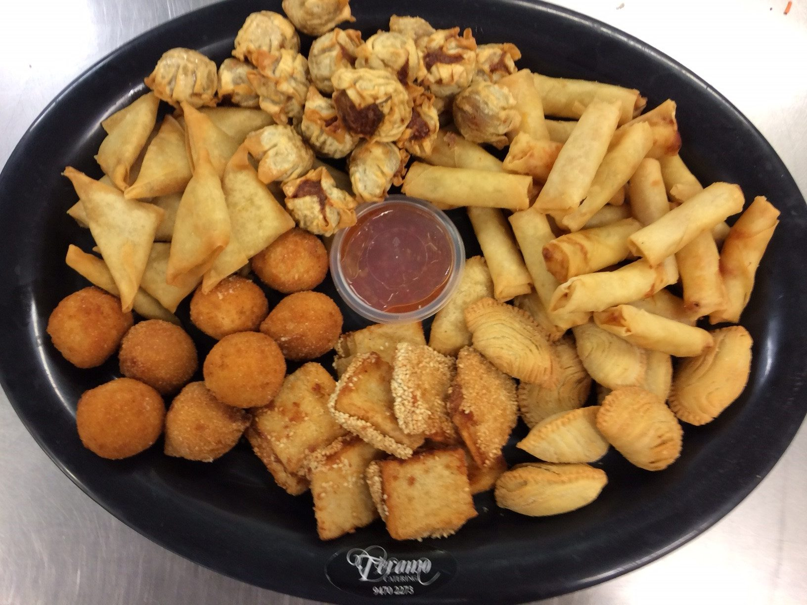 Asian Hot Food Platter