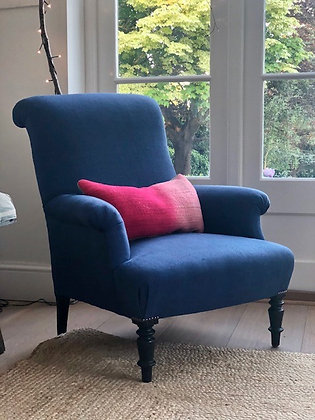 19th Century French Scrollback Armchair