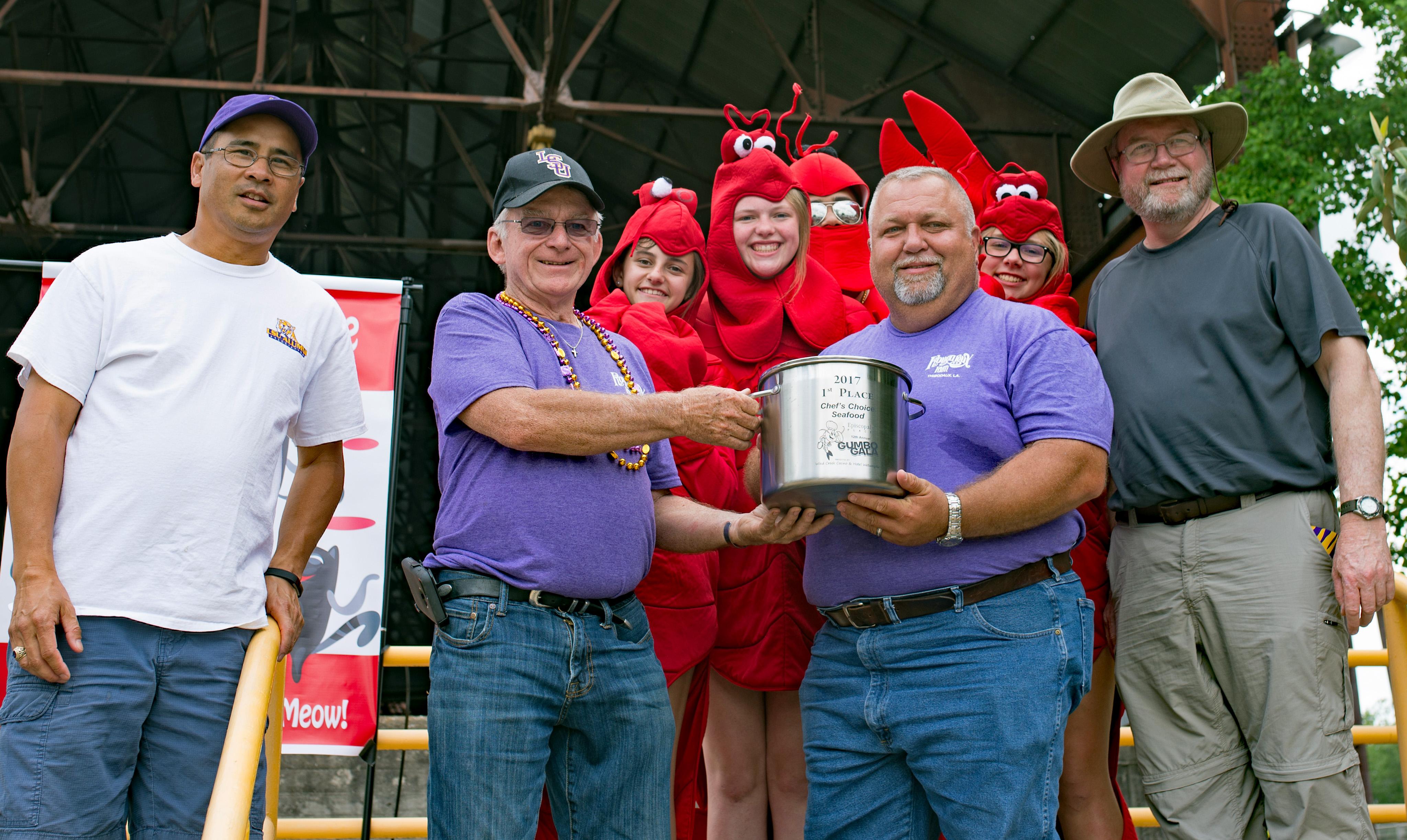 Winner Chefs Choice Seafood LSU