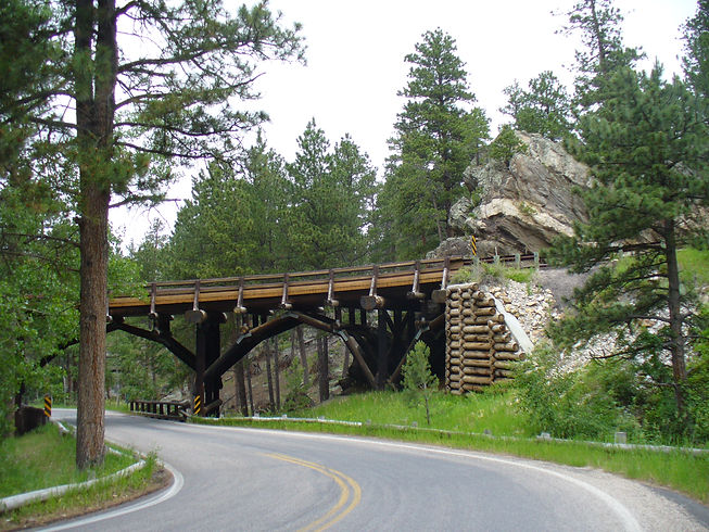 Pigtail Bridge on Iron Mountain Rod