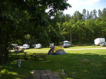 Tent & RV sites