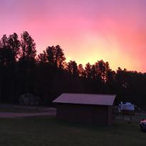 Sunrise at Spokane Creek