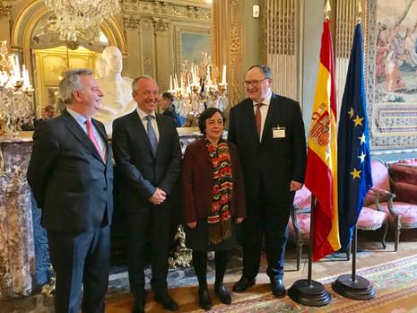 La Financière Responsable and Mapfre Group celebrate strategic partnership in Paris