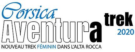 Logo Corsica Aventura TREK 2020 baseline