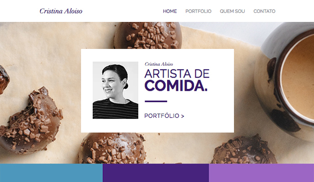 Design website templates – Estilista de Alimentos
