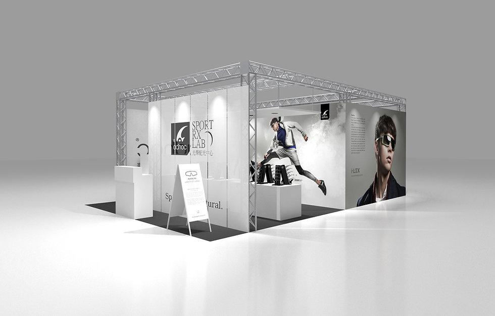 ADHOC展場設計/空間設計