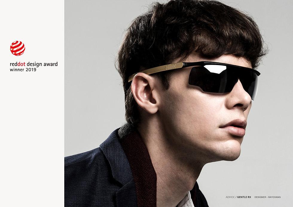 adhoc產品眼鏡設計/紅點2019