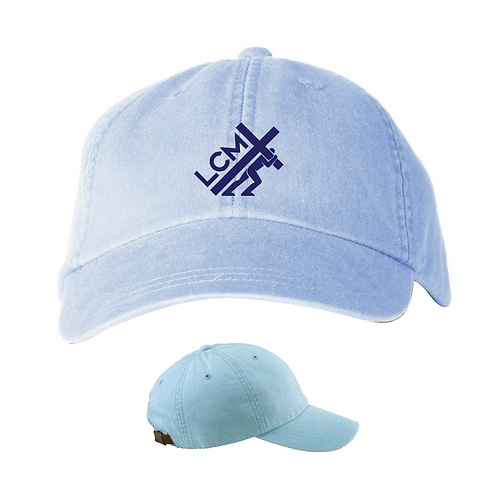 Embroidered Pigment Dyed Hat