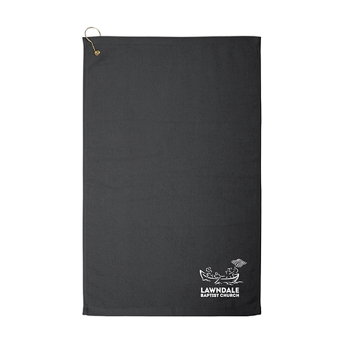 Embroidered Hook Golf Towels