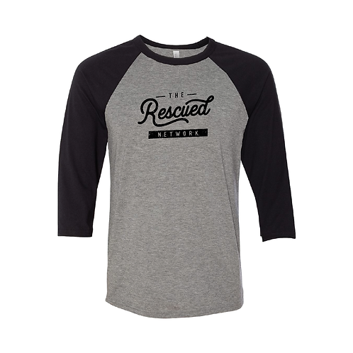 Rescued Network Baseball Tee