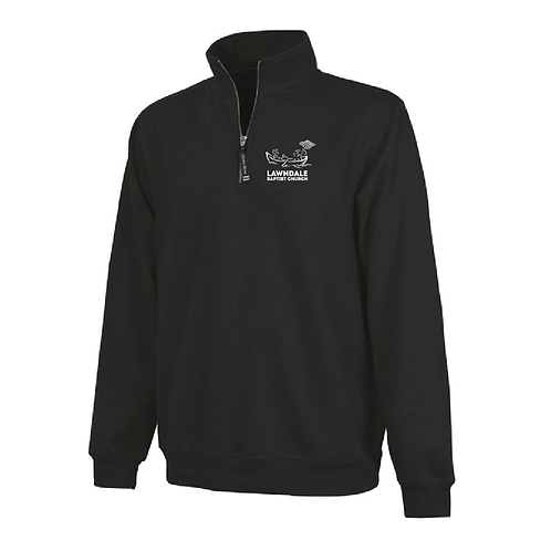 Embroidered Crosswind Quarter Zip