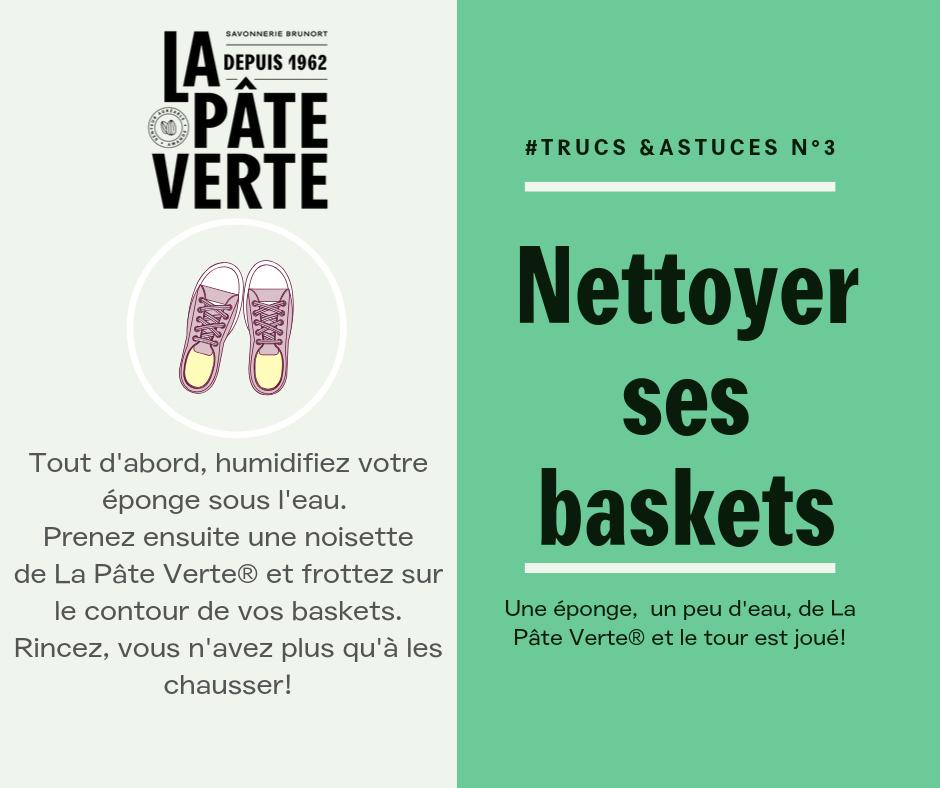 Nettoyer ses baskets
