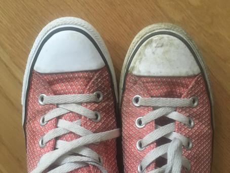 Nettoyer vos baskets avec la Pâte Verte