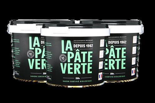Lot x3 Savon Bio La Pâte Verte 350g