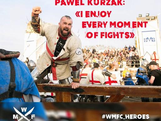 PAWEL KURZAK: «I ENJOY EVERY MOMENT OF FIGHTS»