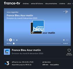 France Bleu Azur et France 3 Côte d'Azur