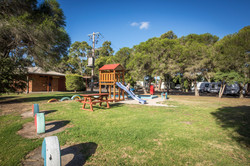 Playground at Pakenham Caravan Park