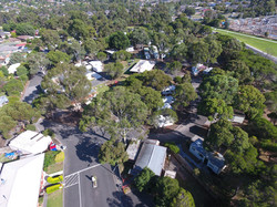 Overview of Pakenham Caravan Park