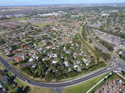 Sky View of Pakenham Caravan Park