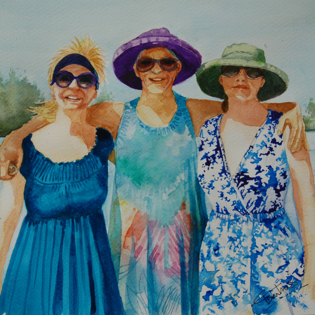 Elizabeth Tomkins -Summer Ladies