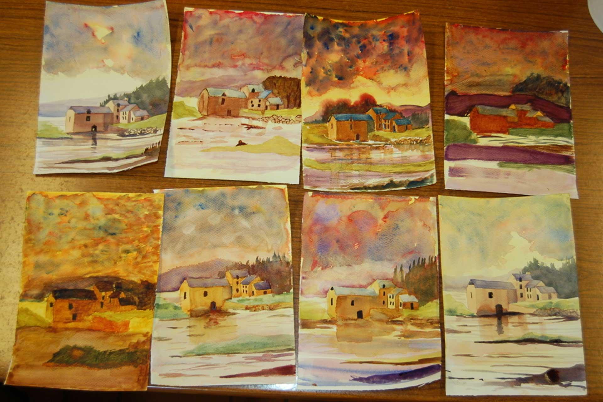 Beginner landscapes