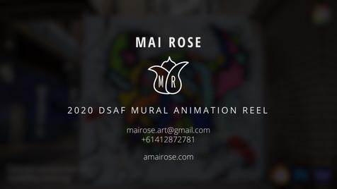 2020 DSAF Mural Animation Reel