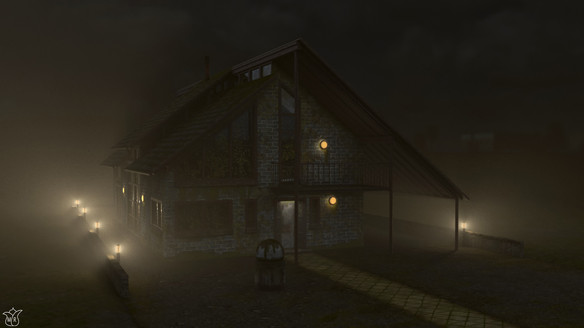 House w/ Lights