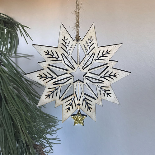 Boule de Noël La Flamboyante