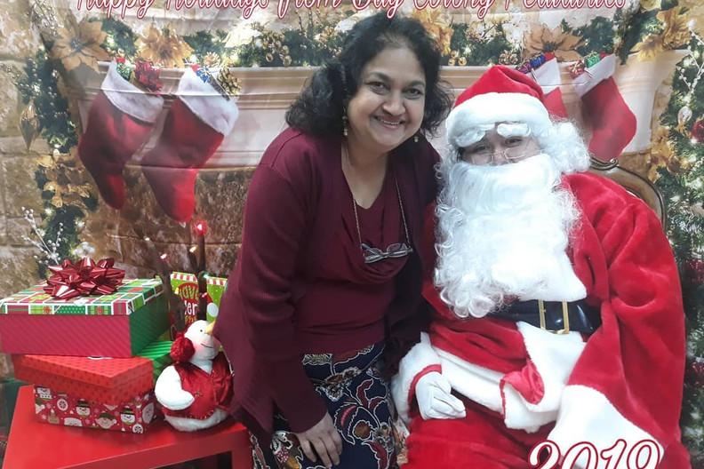 Santa visits BCP! (December 2019)