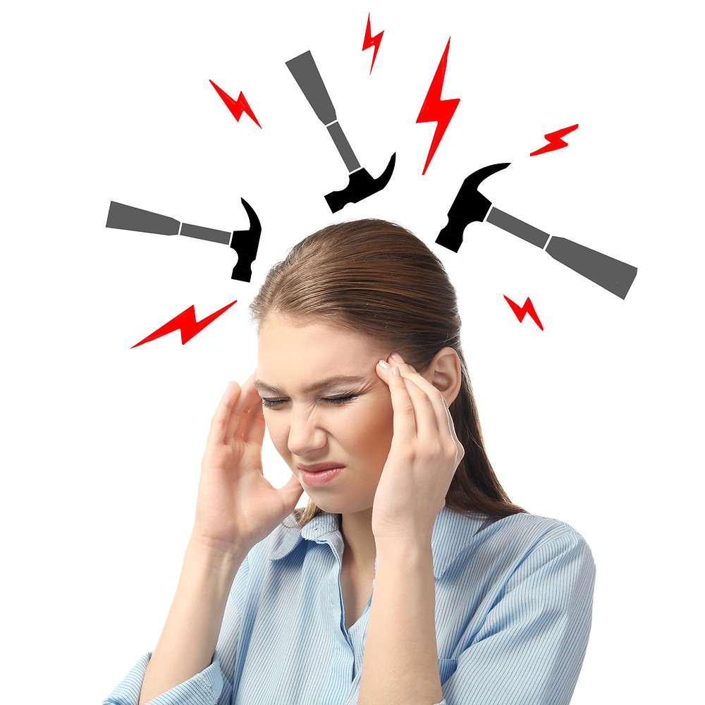 Women with a headache