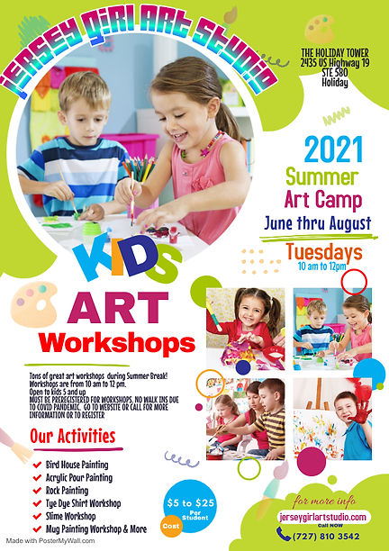 Copy of Copy of Kids Art School Flyer -
