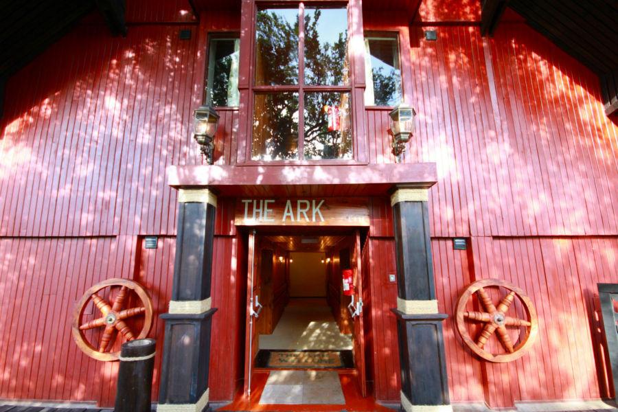 The Ark entrance