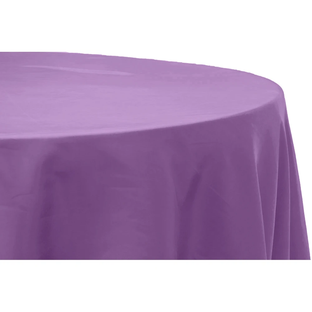 Victorian Lilac Satin Round Tablecloth $8.50