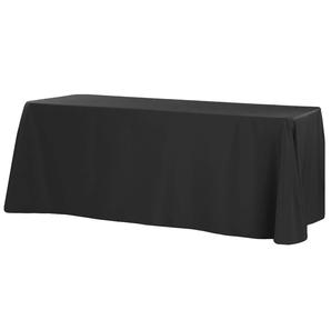 Polyester Rectangular Black Tablecloth $8.50
