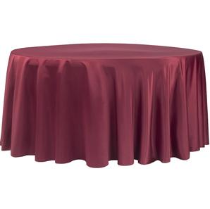 Burgundy/Maroon Satin Round Tablecloth $8.50
