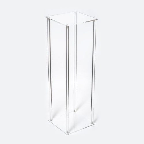 Acrylic Clear Flower Stand Centerpiece $30