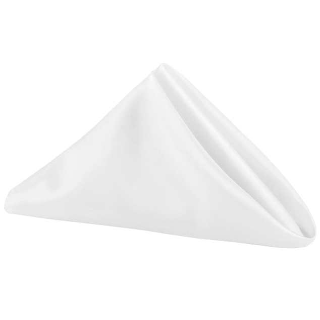 Polyester or Satin Dinner Napkins  $.50 *Available in All Colors*