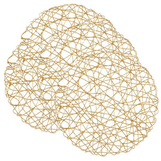 Gold Geometric Wired Charger Mats or Chargers $.75
