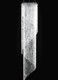8ft Swirling Crystal Chandelier $50.00