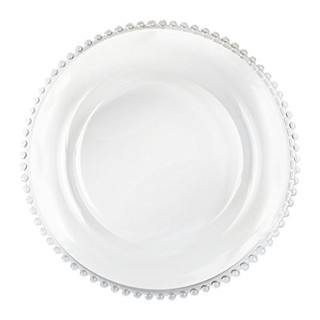 Round Clear Charger Plates $1.50