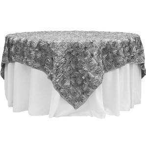 Silver Rosette Table Overlay $12.50
