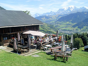 Restaurant chez Therese, Megeve